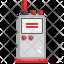 Walkie Talkie Cordless Phone Wireless Mobile Icon