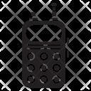 Walkie Talkie Radio Icon