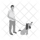 Walking Dog Icon