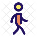 Walking Move Man Icon