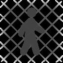 Walking Human Activity Icon