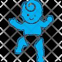 Walking Baby Icon
