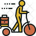 Walking Bike Icon