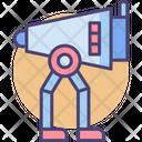 Walking Scout Robotic Body Robotics Icon