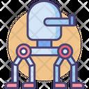 Walking Turret Turret Robot Icon