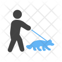 Walking Dog Icon