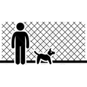 Dog Fence Fences Icon