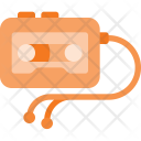 Walkman Casette Player Icon