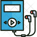 Walkman Music Listening Icon