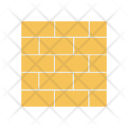 Wall Brick Construction Icon