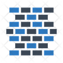 Wall Building Construction Icon