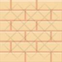 Wall Bricks Under Construction Icon