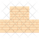 Wall Bricks Under Construction Icon