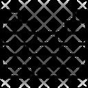 Wall Enclosure Brick Icon