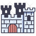 Wall Castle Medieval Icon