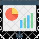 Wall Chart Flip Chart Graph Analysis Icon