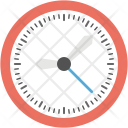 Wall Clock Time Icon