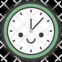 Wall Clock Emoticon Emotion Icon