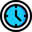 Wall Clock Clock Time Icon