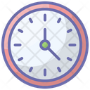 Clock Timepiece Timekeeping Device Icon