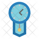 Time Time And Date Circular Clock Icon