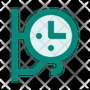Clock Wall City Icon