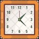 Wall Clock Chronometer Timekeeper Icon