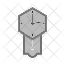 Large Clock Time Icon