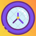 Wall Clock Timepiece Timekeeper Icon