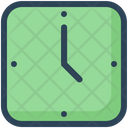 Education Wall Clock Time Icon
