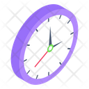Wall Clock Timepiece Timer Icon