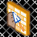Spatula Mason Brick Icon