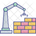 Wall Construction Construction Service Construction Worker Icon