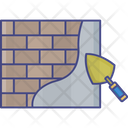 Wall Construction Paint Wall Paint Brush Icon