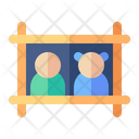 Wall Frame Frame Decoration Icon