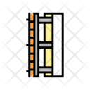 Wall Insulation Layer Icon
