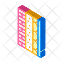 Wall Layers Isometric Icon