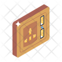 Receptacle Electrical Outlet Switchboard Icon