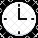 Wallclock Clock Watch Icon