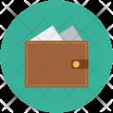 Cash Money Wallet Icon