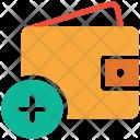 Wallet Cash Add Icon