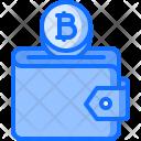 Wallet Purse Bitcoin Icon