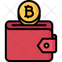 Purse Bitcoin Coin Icon