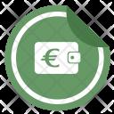 Euro Money Wallet Icon