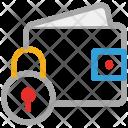 Wallet Purse Lock Icon