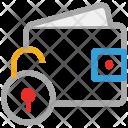 Wallet Purse Unlock Icon