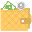 Savings Wallet Cash Icon