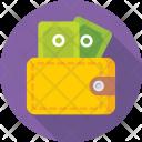 Wallet Purse Billfold Icon