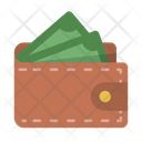 Billfold Cash Cashflow Icon