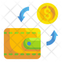 Wallet Coin Exchange Icon